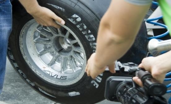 замена колес